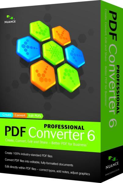 OEM Nuance PDF Converter Professional 6
